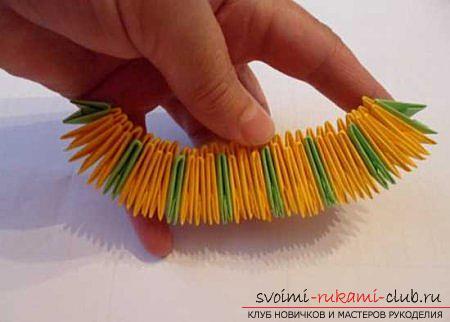 Оригами павлина своими руками: схема и описание. Фото №1