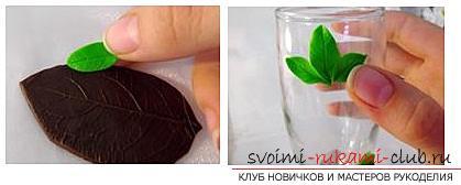 Как украсить бокалы полимерной глиной и как сделать кольца для салфеток из термопластики.. Фото №22