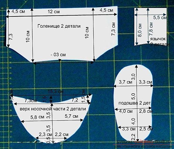 фото-инструкция для выкройки изделия. Фото №3