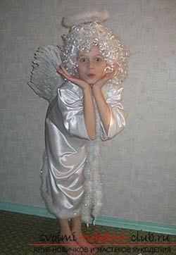 фотоинструкция для выкройки детских костюмов. Фото №3