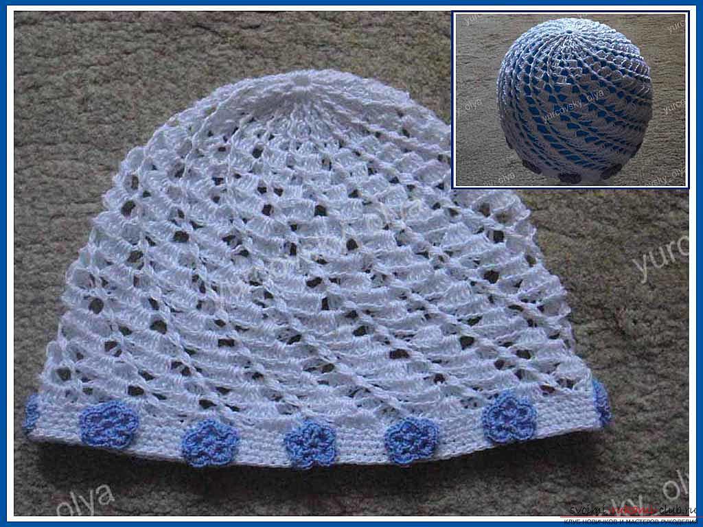 Как сделать летнюю детскую шапочку в домашних условиях. Поэтапная инструкция вязания детской шапочки своими руками. «