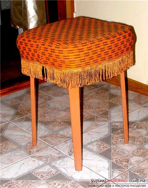 Как сделать выкройку для чехла для стула