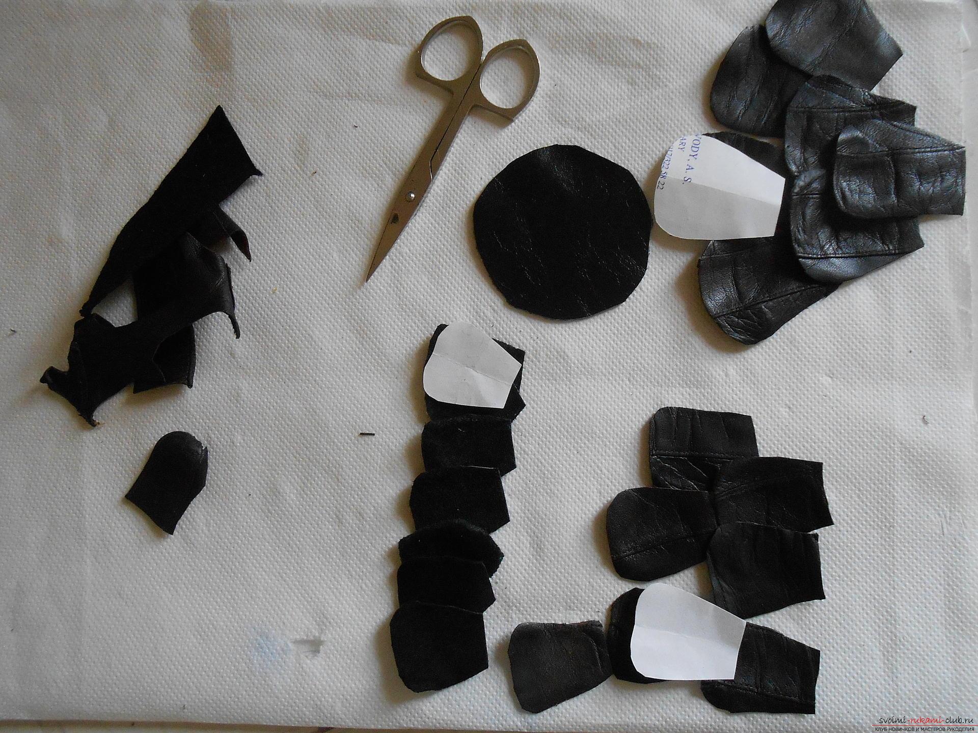 Кожаные чехлы самые модные для телефонов, но мало кто знает как сделать чехлы из кожи своими руками.. Фото №6