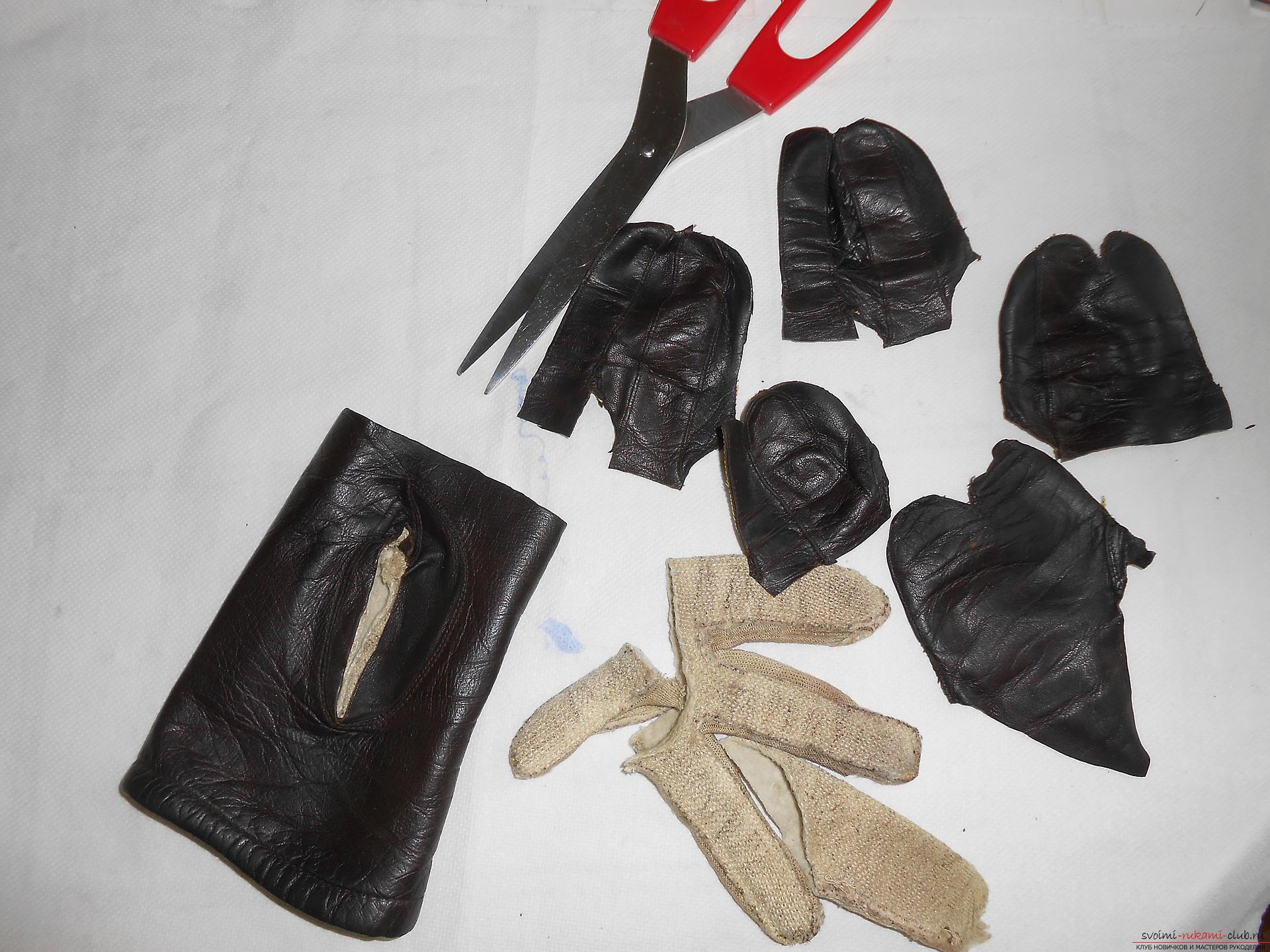 Кожаные чехлы самые модные для телефонов, но мало кто знает как сделать чехлы из кожи своими руками.. Фото №4