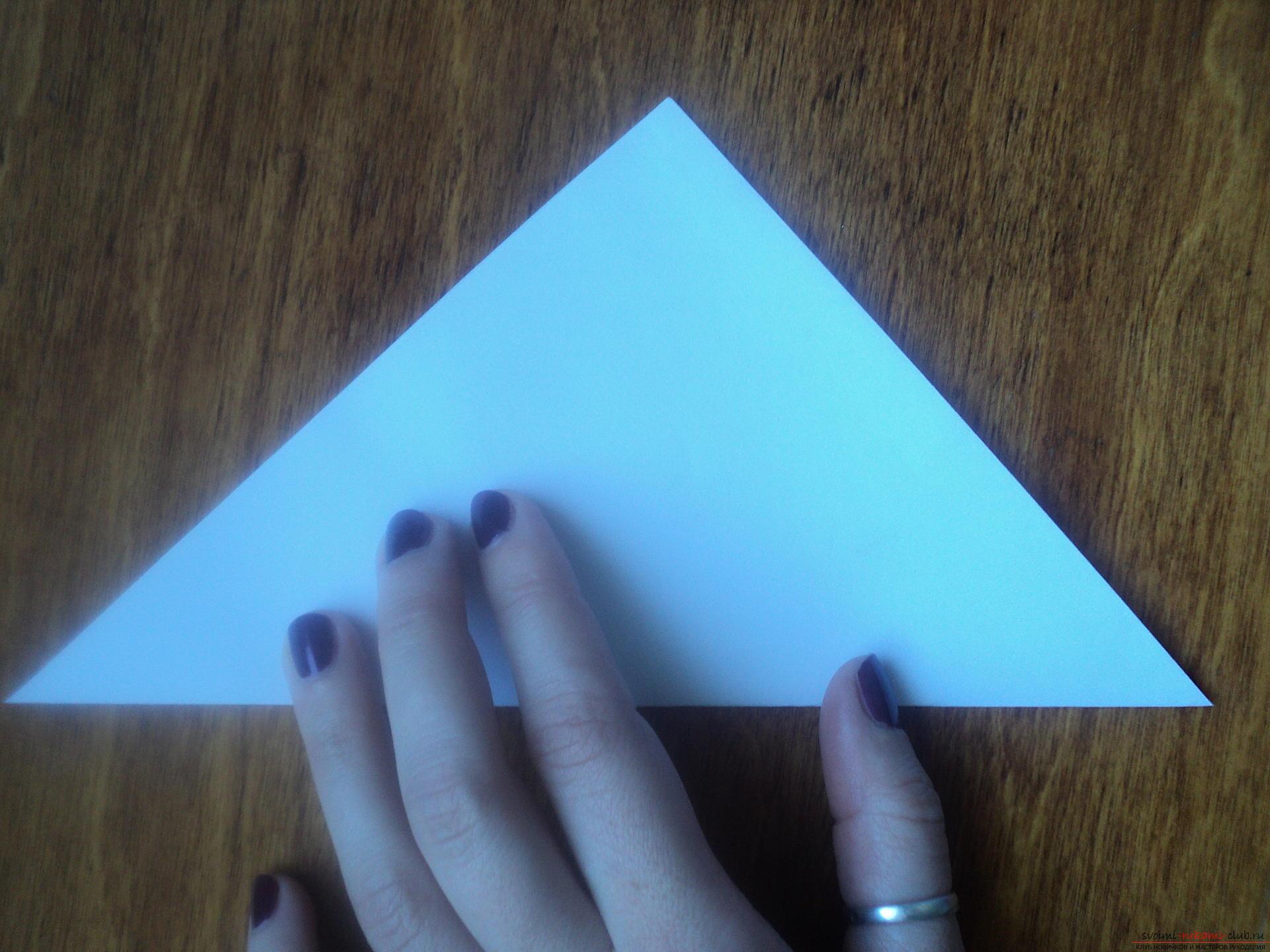 Как сделать на фото треугольники