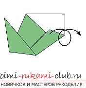 Создание поделок из бумаги своим руками в технике оригами для детей 5 лет.. Фото №18