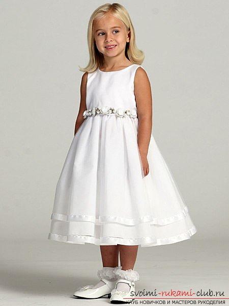 фото выкроек платья для девочки. Фото №1