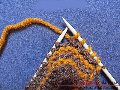 Как связать комфортные тапочки-следки спицами. Фото №6