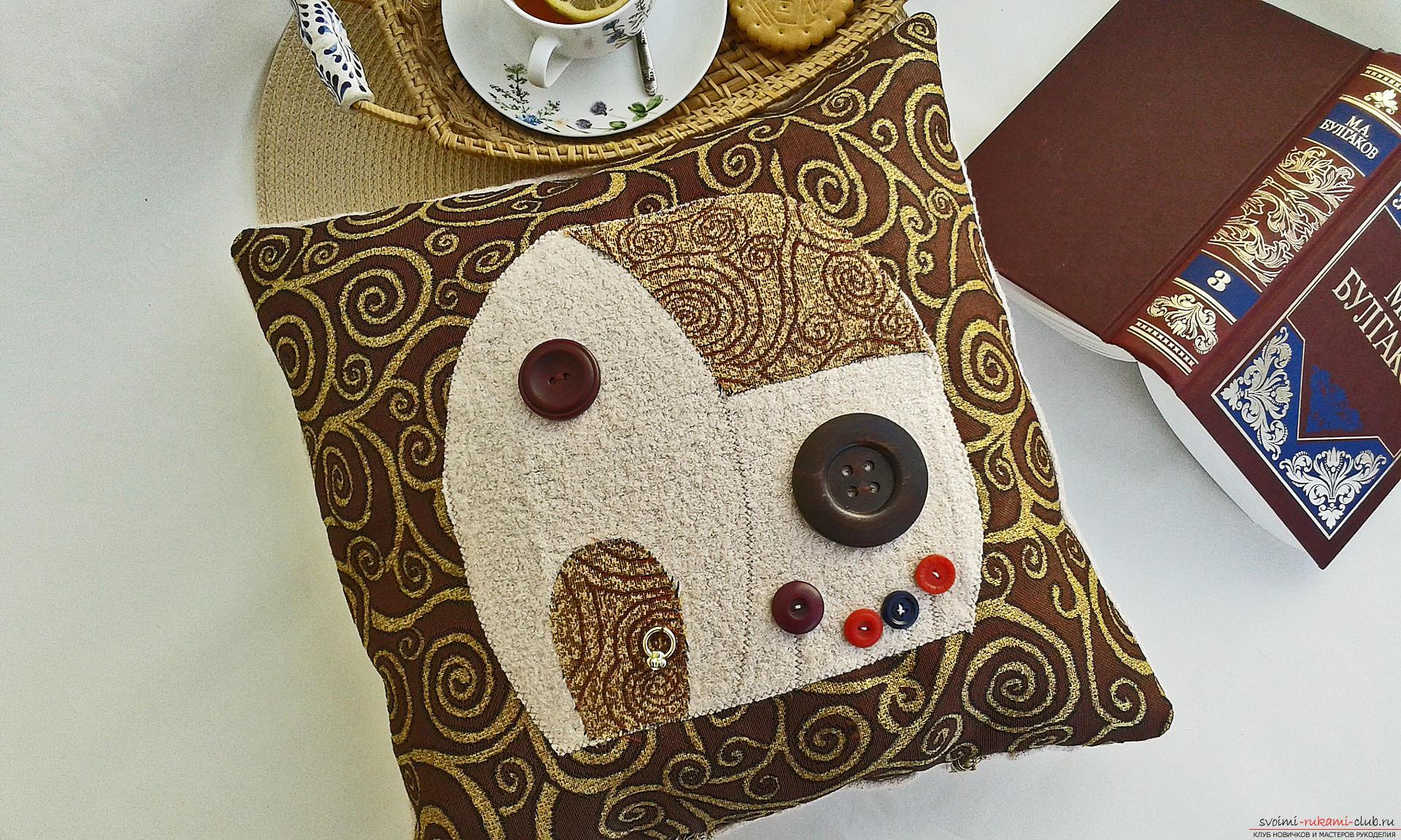 Декоративные подушки своими руками из ткани фото фото 705