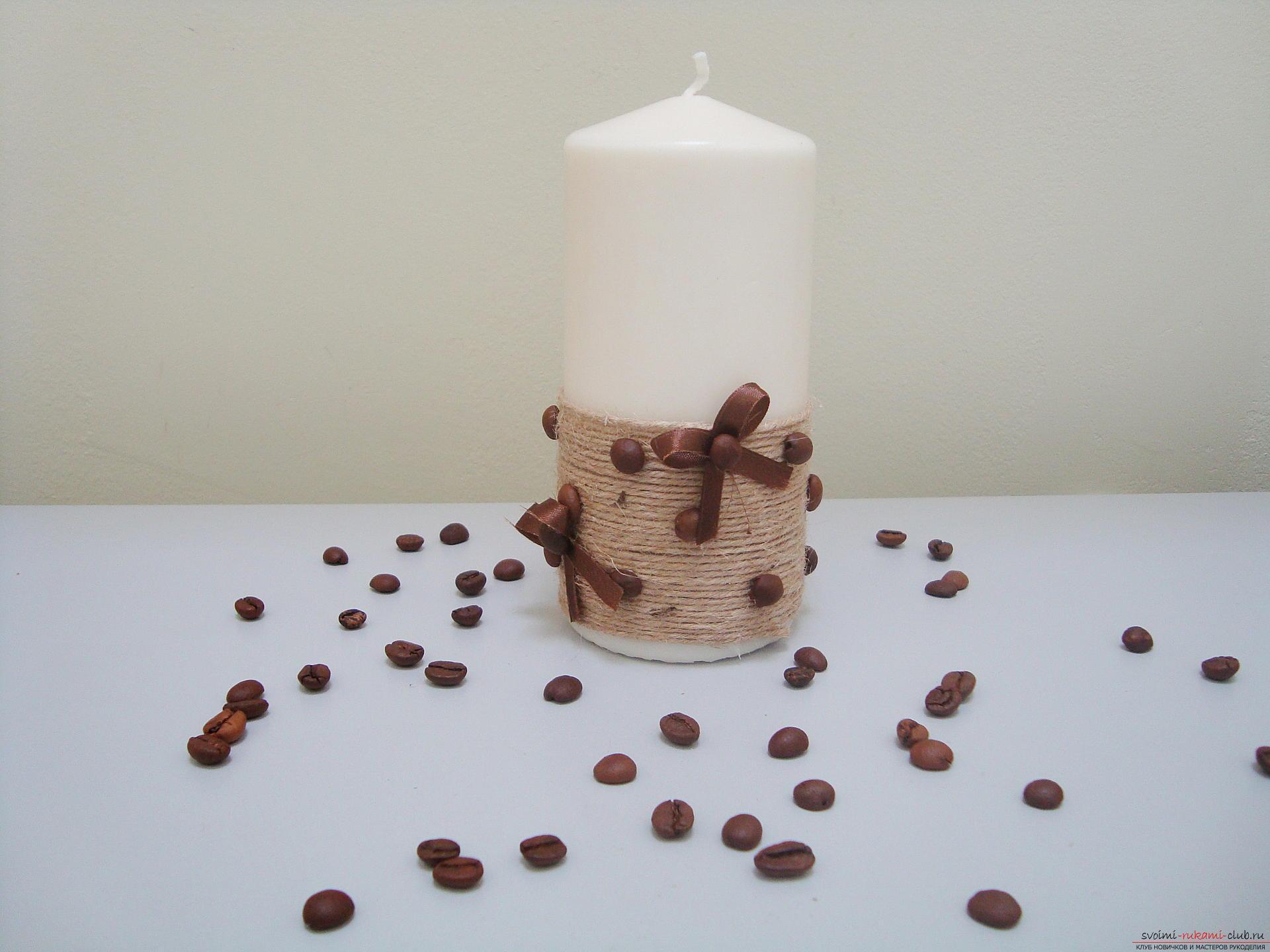 Свеча с фото пошаговое