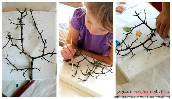 Как сделать дерево своими руками для детей