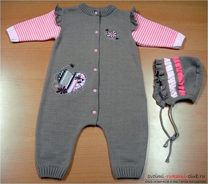 Схема вязания детского