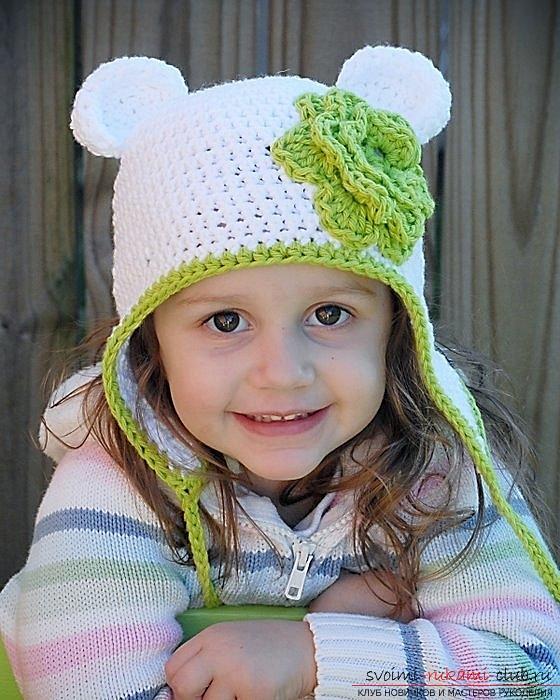 Вторая модель детской шапочки.