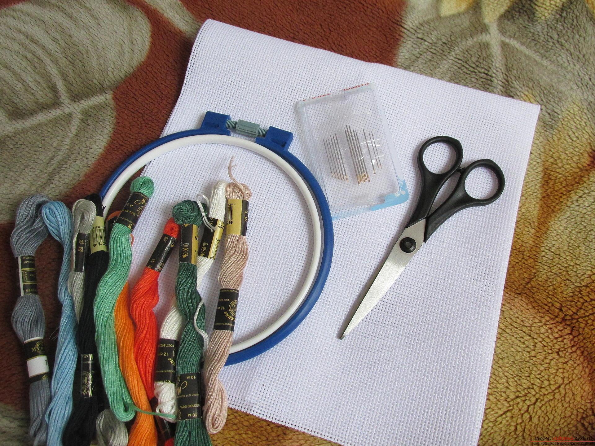 вышивка крестом черными и серыми нитками схема