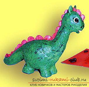 Знакомимся ближе с информацией о том, как сделать динозавра из пластилина своими руками