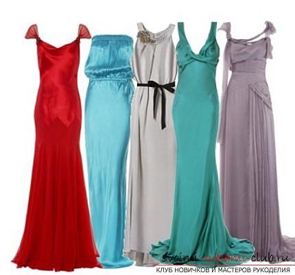 Как сшить самой длинное вечернее платье