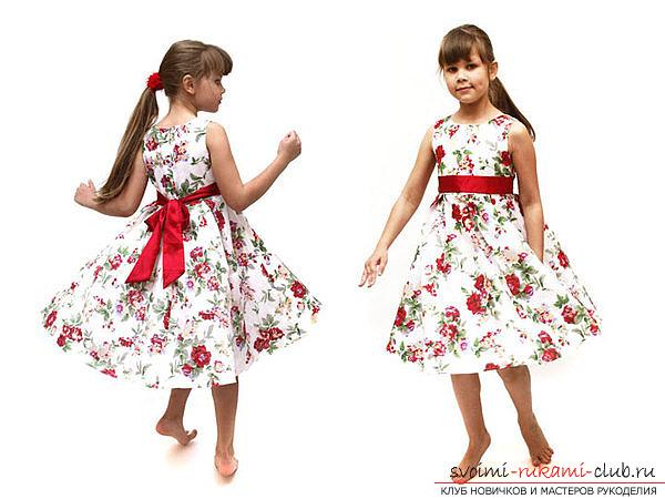 Платье выкройка для девушек