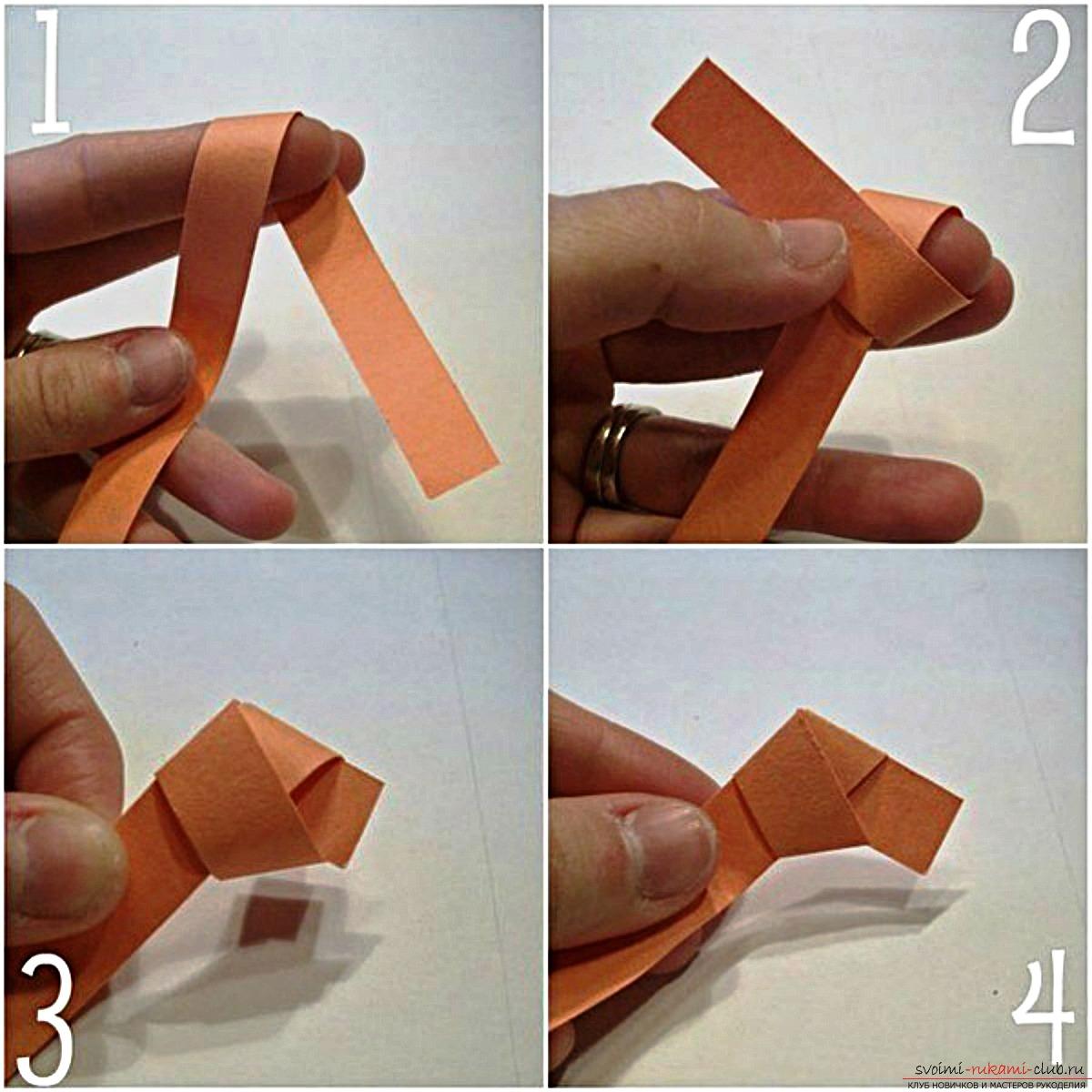 Как можно сделать звездочку из бумаги