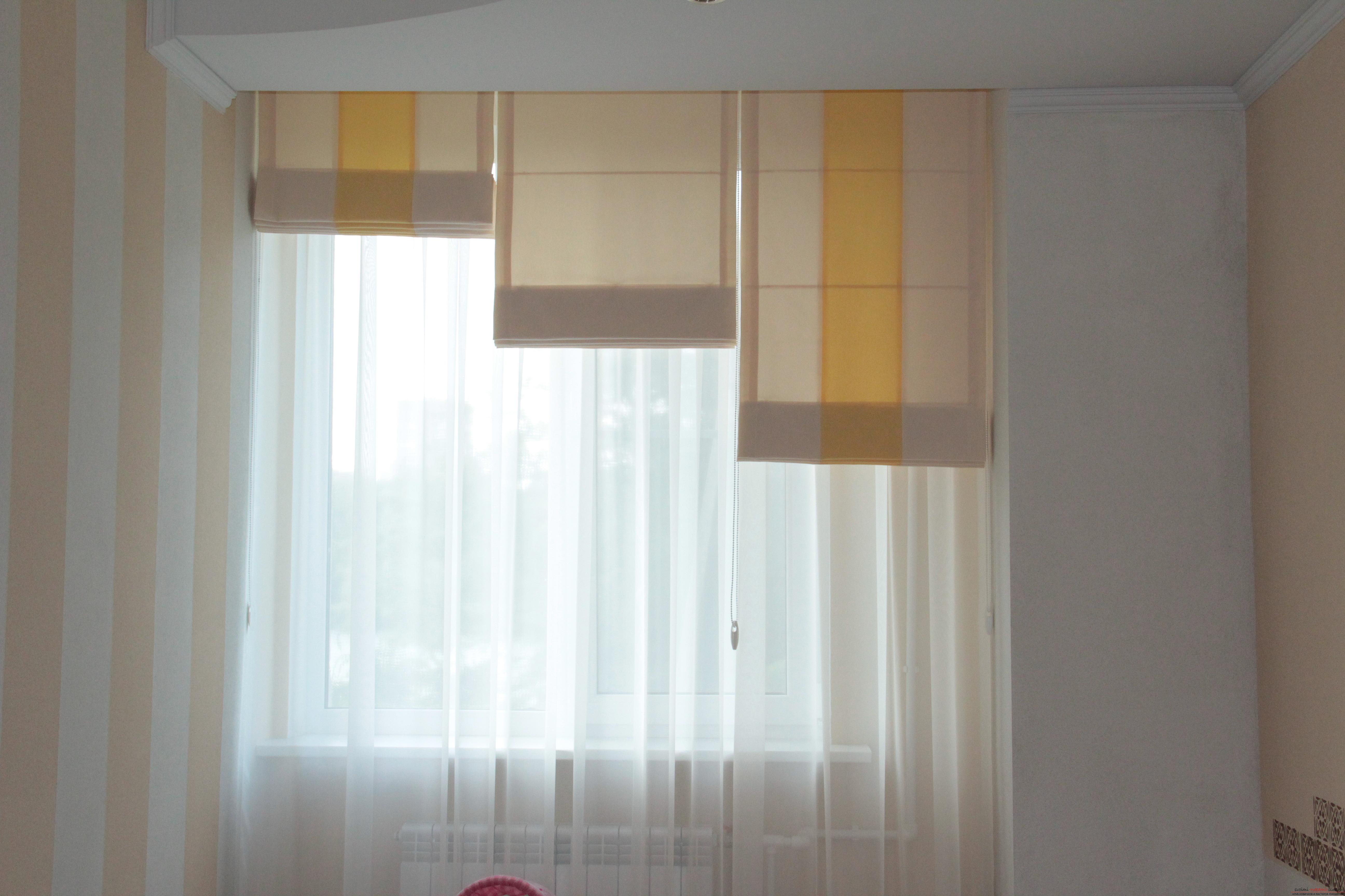 Роликовые шторы своими руками фото 152