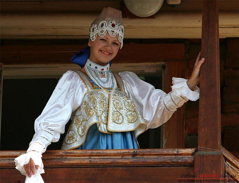 Как сшить неотъемлемый элемент традиционного русского костюма душегрею. Профессиональная выкройка душегреи. Фото №1