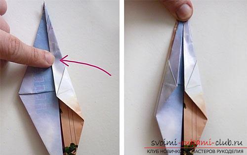 Как создать своими руками поделку в технике оригами для детей возрастом 9 лет.. Фото №22