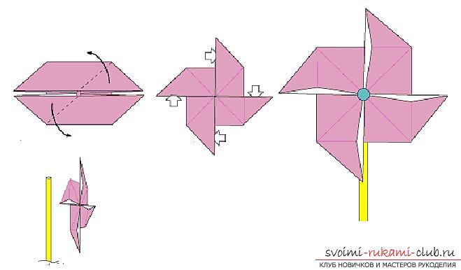 Создание поделок из бумаги своим руками в технике оригами для детей 5 лет.. Фото №33