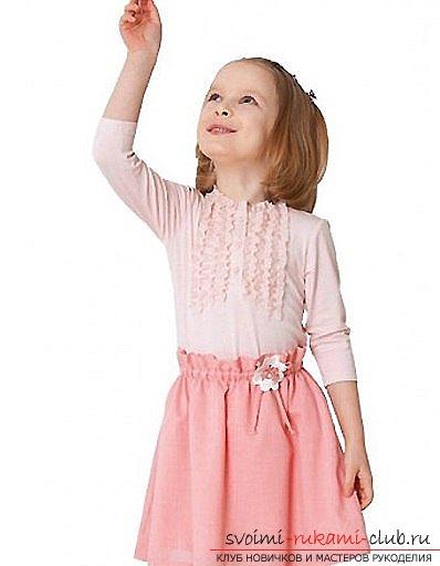 фотопримеры юбок для девочек. Фото №3