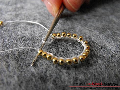 Мастер классы по плетению жгутов из бисера различных размеров, фото готовый изделий.. Фото №34