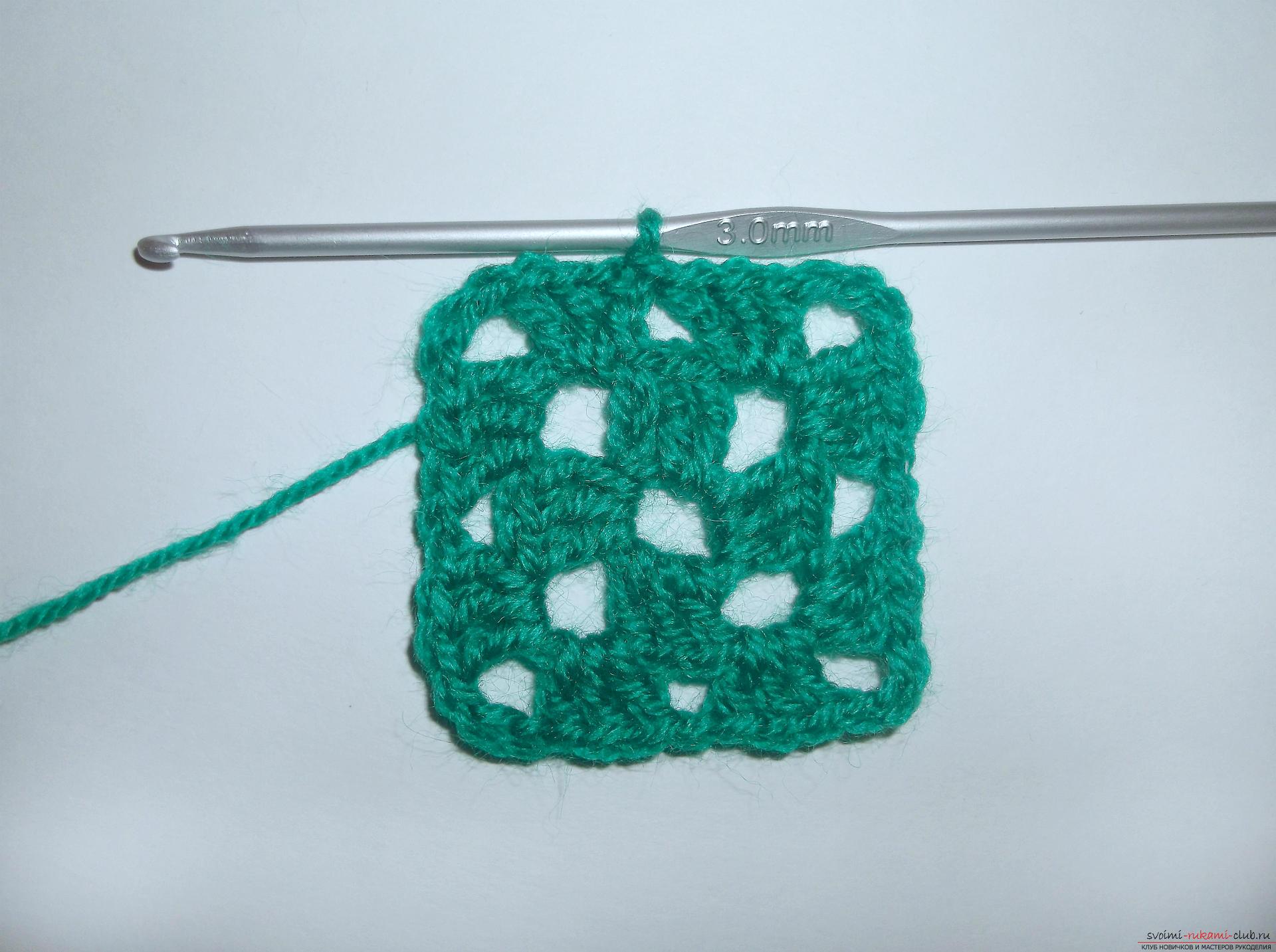 Вязание крючком ёлочкой