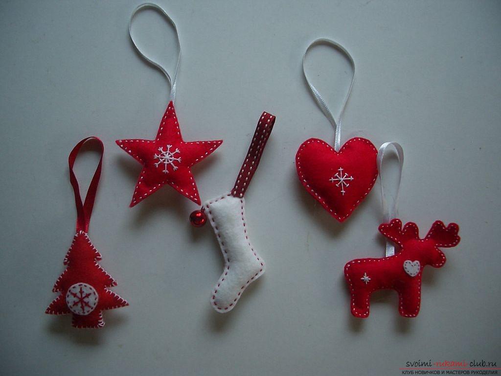 Мягкие новогодние игрушки своими руками из ткани выкройки фото
