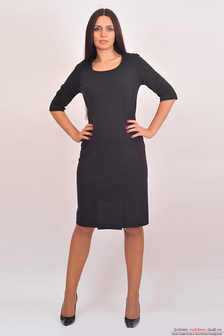 Черное платье шить своими руками фото 119