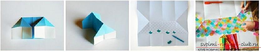 Создание поделок из бумаги своим руками в технике оригами для детей 5 лет.. Фото №29