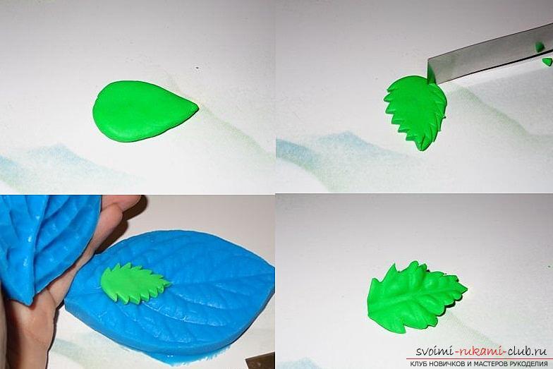 Как сделать своими руками ободок для волос из полимерной глины, мастер класс с фото.. Фото №23