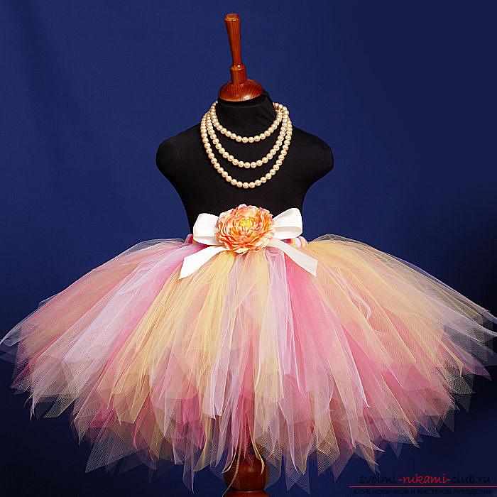 Сшить юбку для костюма девочке фото 851