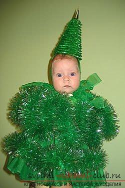 Выкройка костюма ребенку на новый год
