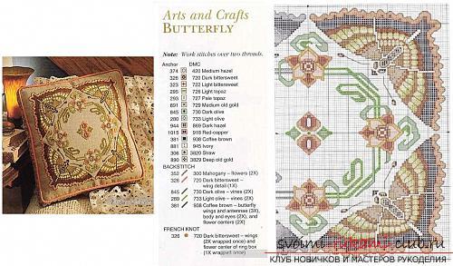 Схемы вышивания крестиком больших размеров