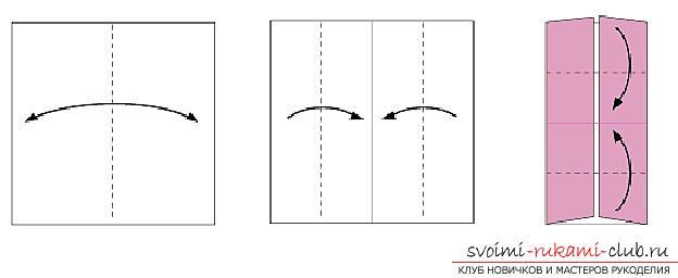 Создание поделок из бумаги своим руками в технике оригами для детей 5 лет.. Фото №31