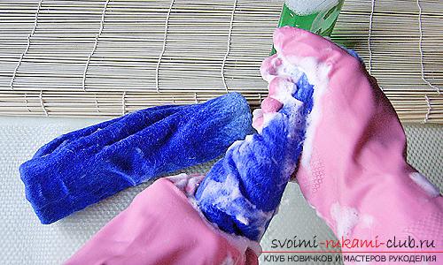 Как научиться валять детские валенки своими руками. Фото №11