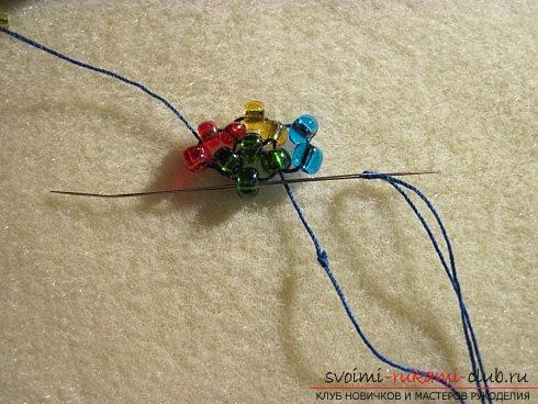 Мастер классы по плетению жгутов из бисера различных размеров, фото готовый изделий.. Фото №8