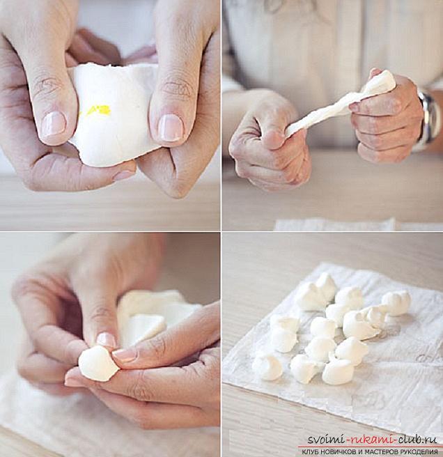Как сделать своими руками ободок для волос из полимерной глины, мастер класс с фото.. Фото №11