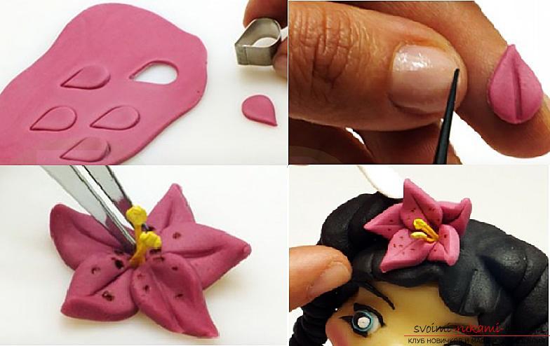 Мастер класс по лепке кукол из полимерной глины своими руками. Фото №16