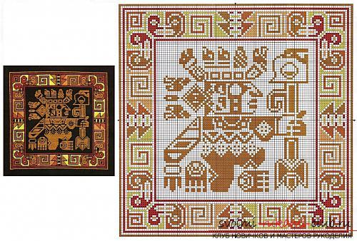 Вышивка декоративных подушек