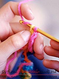 Красивые узоры крючком для начинающих. Фото №1