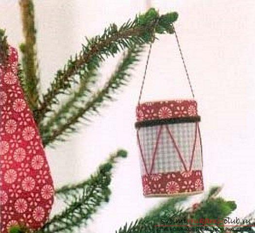 Делаем красивые и оригинальные выкройки ярких новогодних игрушек