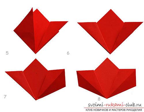 Как создать своими руками поделку в технике оригами для детей возрастом 9 лет.. Фото №9