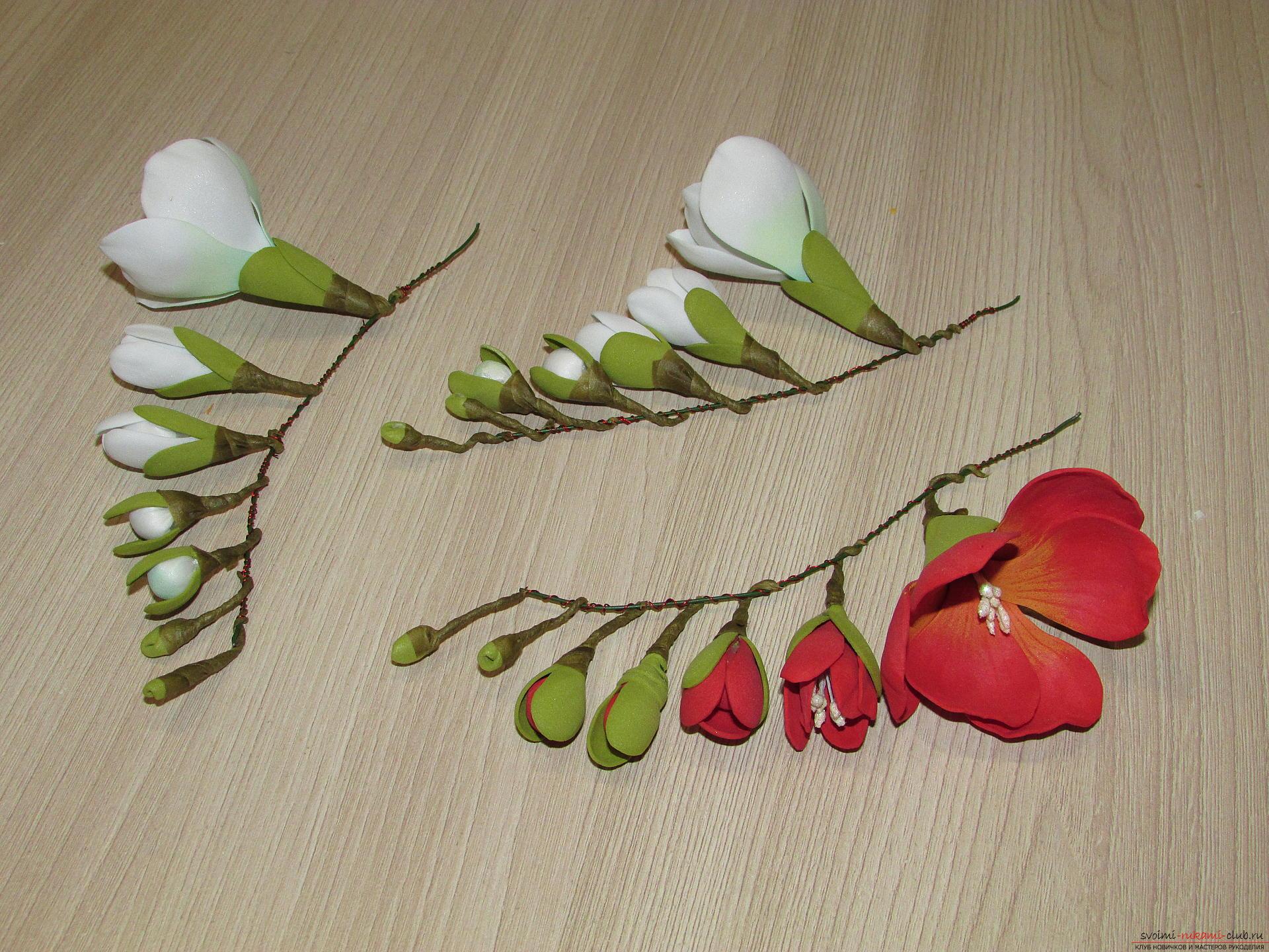 Как сделать ветку сакуры с цветами из гофрированной бумаги 93