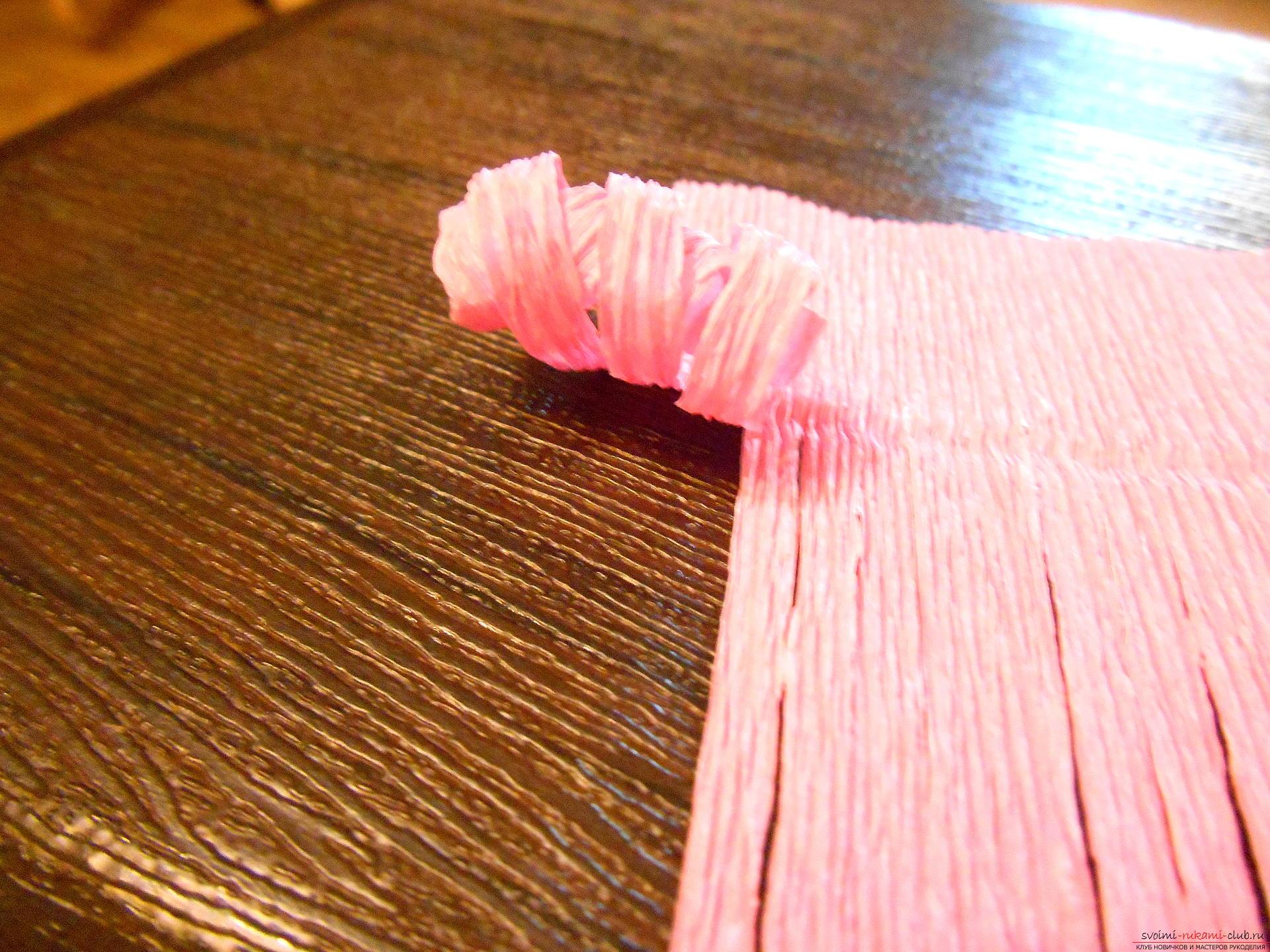 Гиацинт из гофрированной бумаги своими руками пошаговое фото