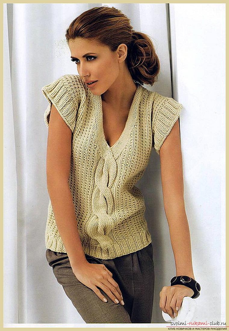 Вязание кофточки для женщин со схемами фото 159
