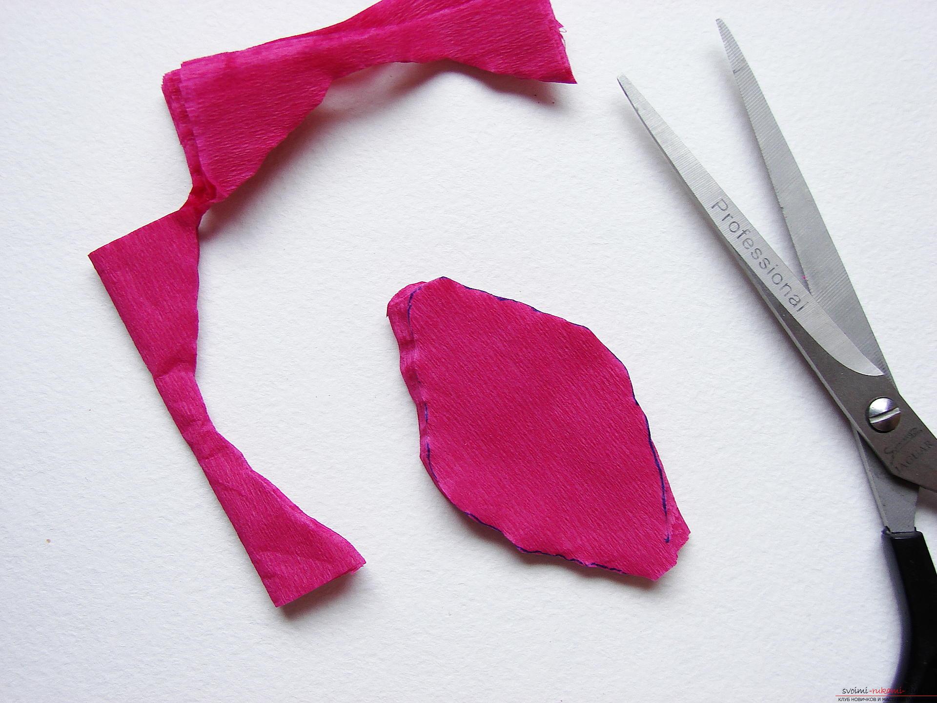 Как сделать цветок с лепестками из бумаги