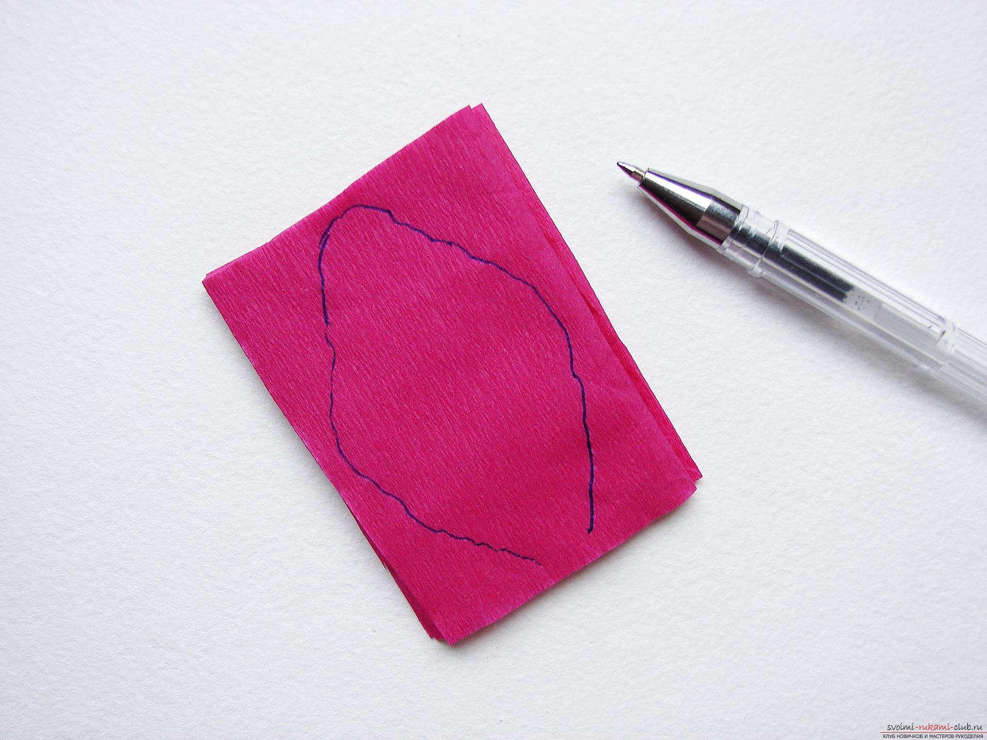 Этот мастер-класс научит как сделать цветы гладиолусы из бумаги своими руками.. Фото №5